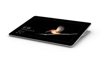 Surface Go とスタジオ モードの Surface Go Signature Type Cover