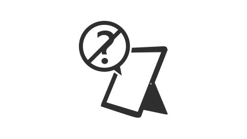 Surface デバイスが質問をキャンセルします