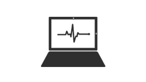 Surface デバイスの画面上に診断読み出しを表示