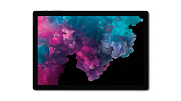 タブレット モードの Surface Pro 6 コンピューター