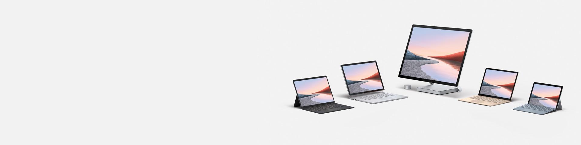 Surfaceコンピュータファミリー