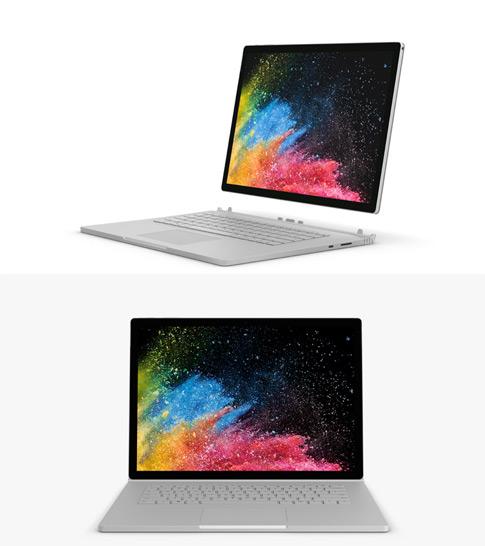 Surface Pro タイプカバーが装着された Surface Pro 7 の画像