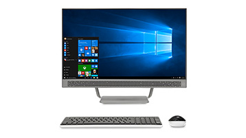 Windows 10 オールインワン PC とデスクトップ PC
