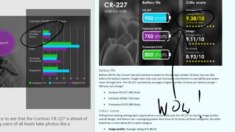 Windows Ink ワークスペースの画面スケッチ