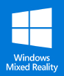 Windows Mixed reality バッジ