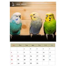 2019 年度カレンダー(A4 サイズ・タテ・1 ヵ月)