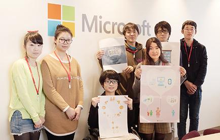 デザイン協力: 横浜デザイン学院の生徒たちの図