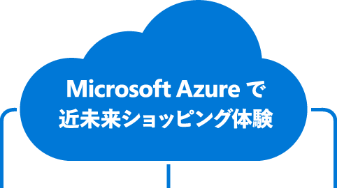 Microsoft Azure で近未来ショッピング体験