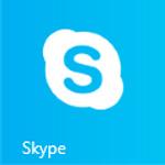 画面イメージ: スカイプのアイコン