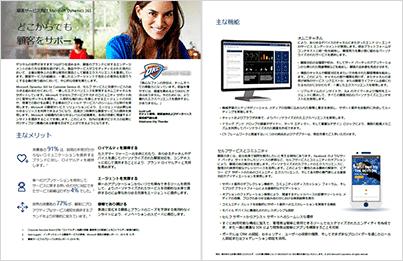 Dynamics 365 for Customer Service (顧客サービス) クイック スタート ガイド