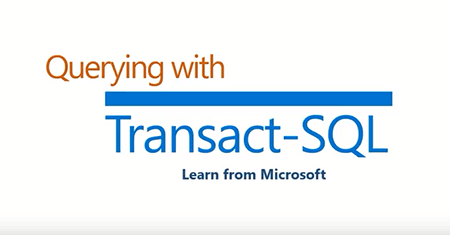 Querying with Transact-SQL