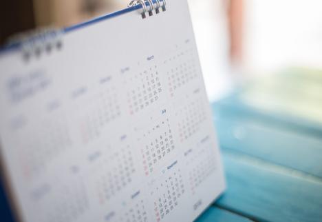 2018年度カレンダー(4月始まり)