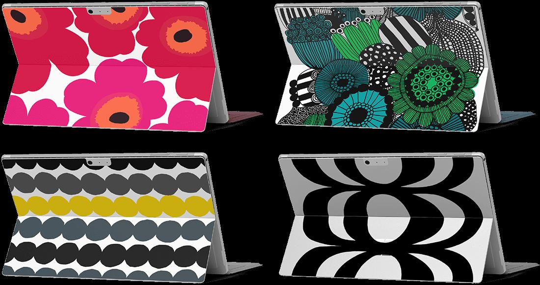 イメージ : Marimekko for Microsoft Surface Pro スキンシール (4 種)