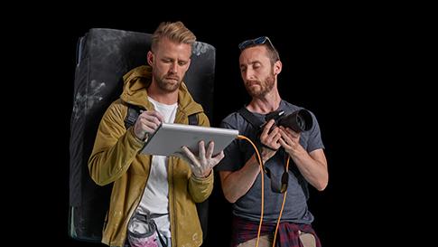 Surface Pro と男性