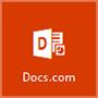 Docs.com 아이콘