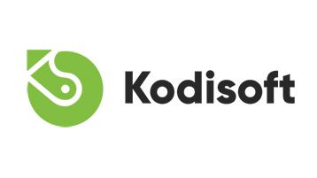 Kodisoft 브랜드 로고