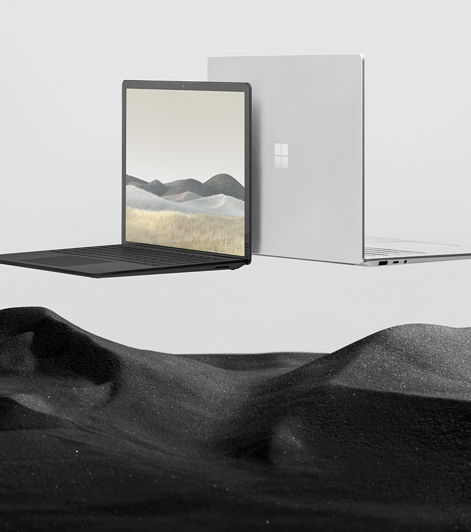 13.5인치 및 15인치의 Surface Laptop 3