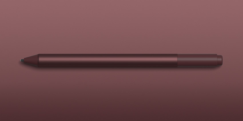 버건디 Surface Pen