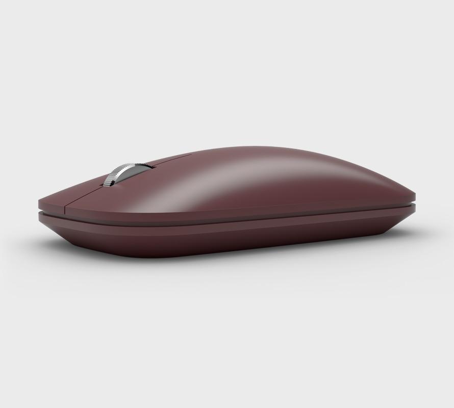 버건디 Surface Mobile Mouse