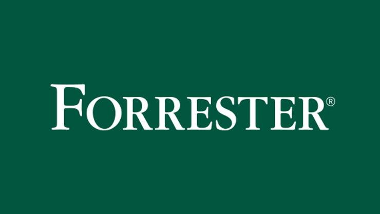 Forrester 상표 로고