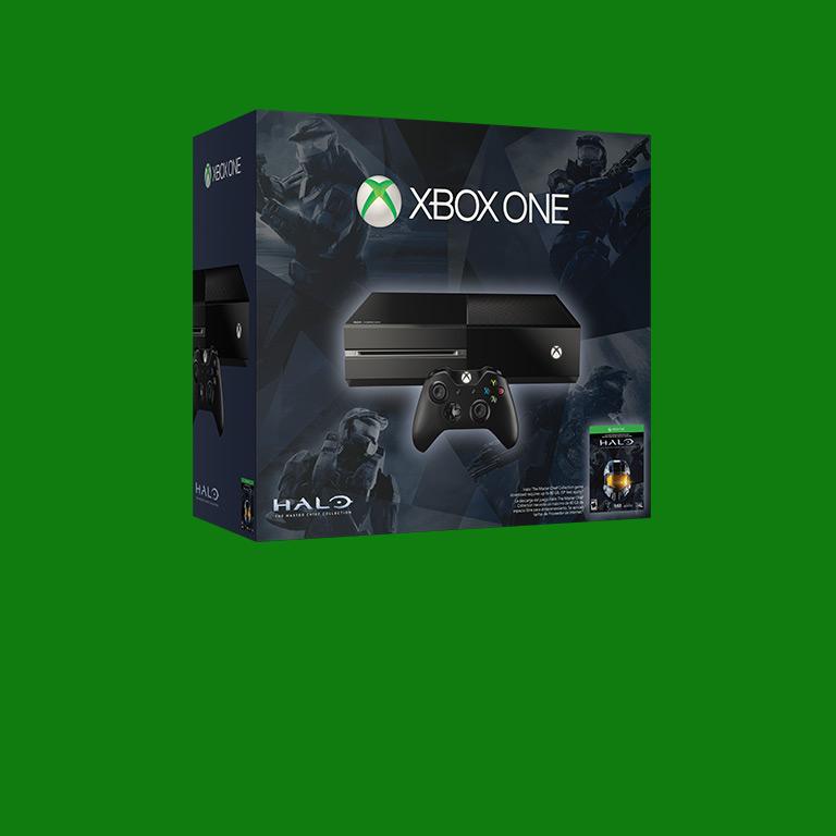 Halo 게임 4개와 번들 1개. 특별 가격(제품 소진 시까지).