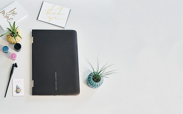 노트북 모드의 HP Spectre x360