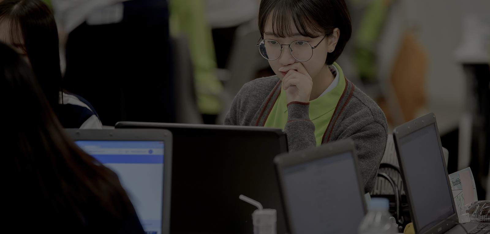 마이크로소프트는 미래세대 지원을 위한 프로그램과 파트너십에 다양한 사회적 투자를 진행하고 있습니다.