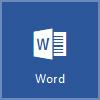 """""""Word"""" piktograma"""