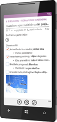 OneNote for Windows Phone