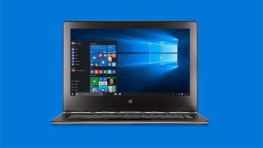 """Kompiuteris; atnaujinkite versiją į """"Windows 10"""""""