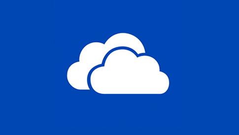 """Programėlės """"OneDrive"""" plytelė"""