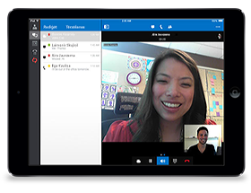 Lync2013 darbam ar iPad