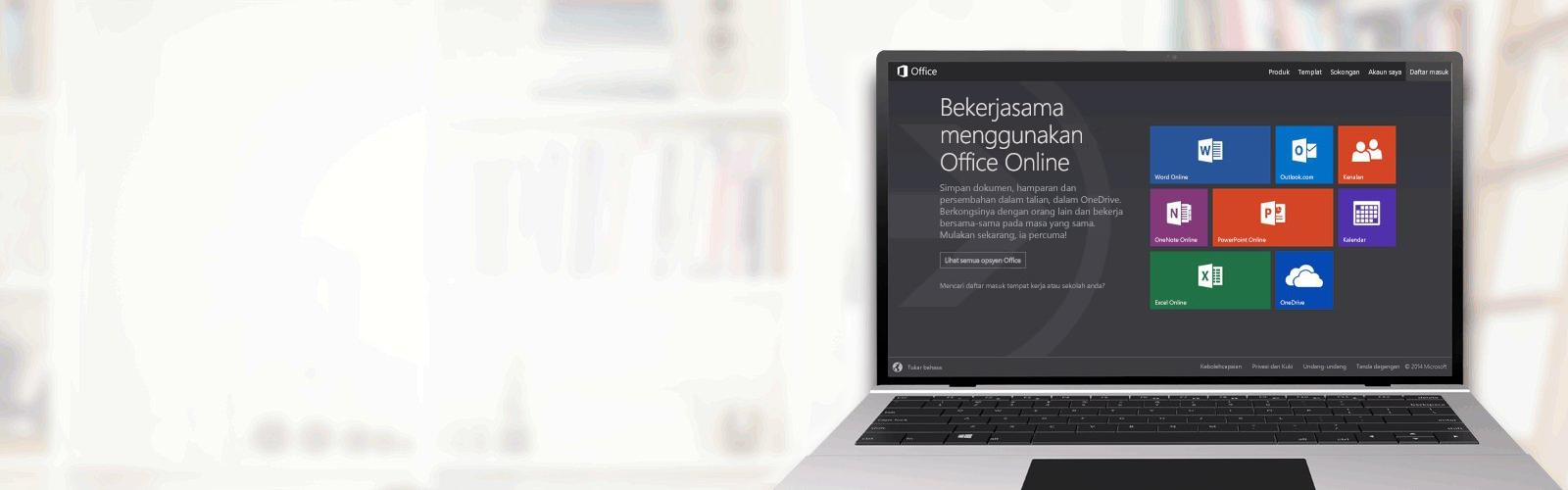 Bekerjasama menggunakan Office Online