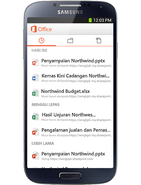 Office Mobile anda