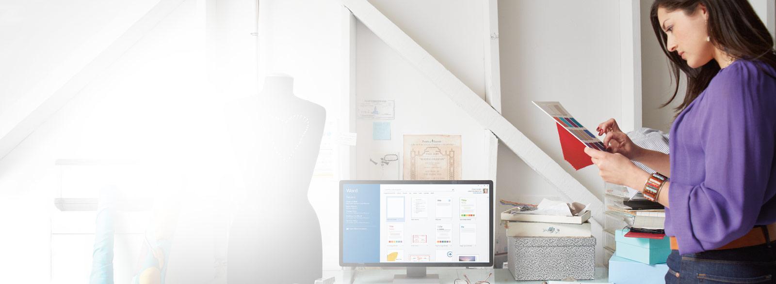 Office 365 Business: aplikasi Office yang lengkap merentasi peranti serta storan dan perkongsian fail.