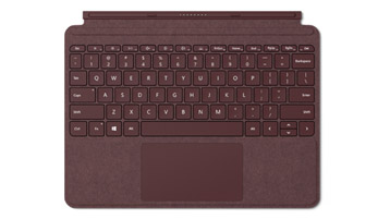 Surface Go Signature Type Cover Burgundi