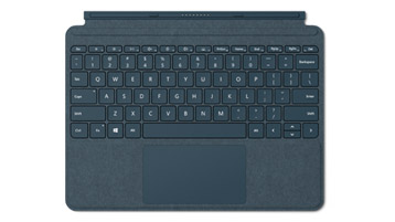 Surface Go Signature Type Cover Biru kobalt
