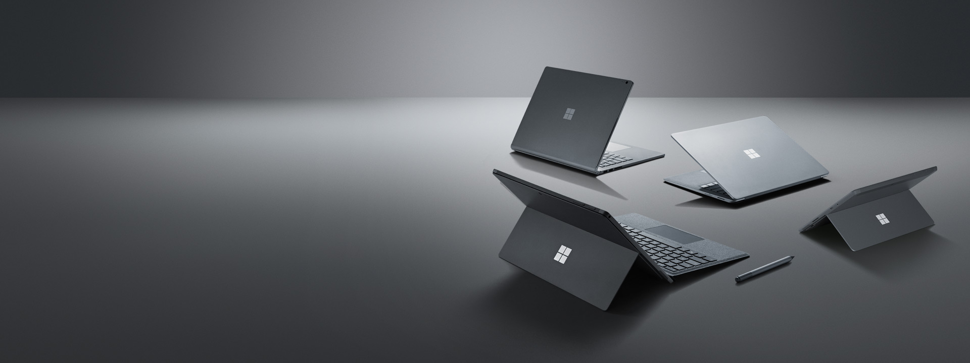 Surface Laptop 2, Surface Pro 6, Surface Go