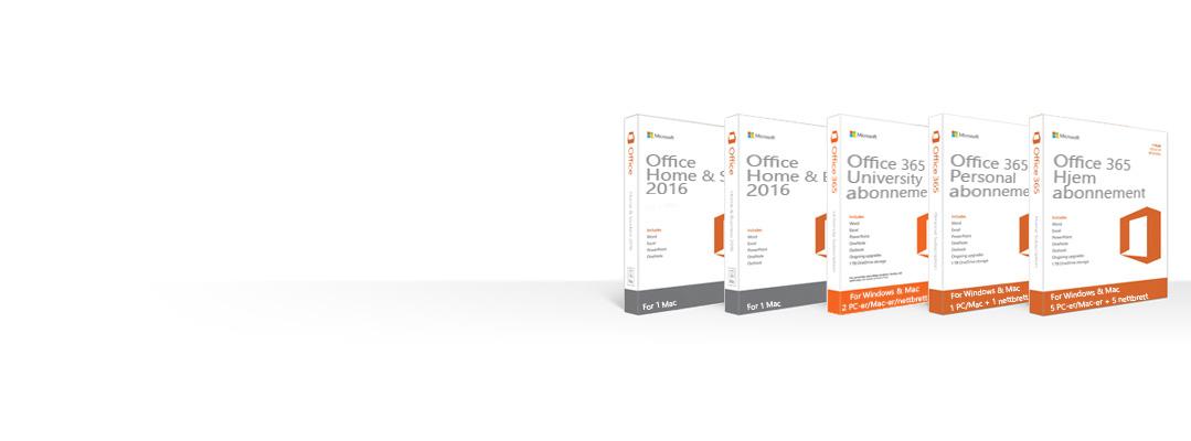Administrere, laste ned, sikkerhetskopiere eller gjenopprette Office-produkter