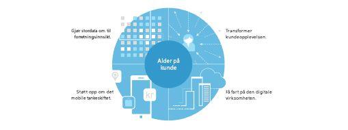 Et diagram i TEI-studien, les om den samlede økonomiske effekten av Microsoft PPM