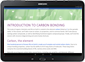 Android-nettbrett som kjører en Office-app