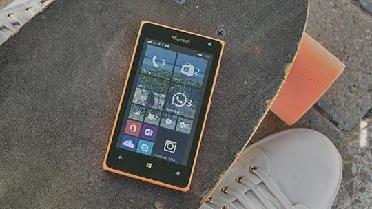 Lumia-telefon, les mer