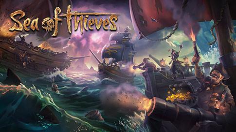 Spillskjerm av Sea of thieves