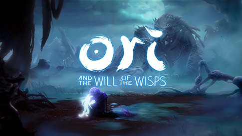 Spillskjerm fra Ori and the Will of the Wisps