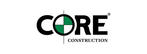 Core Construction-logo, lees hoe Project Server door Core Construction wordt gebruikt voor projectbeheer