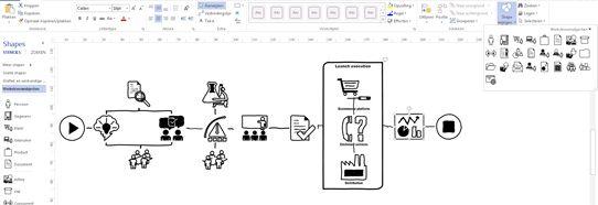 veelzijdige diagrammen maken  visio pro voor office 365