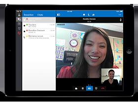 Lync 2013 voor de iPad