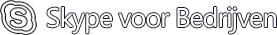 Logo van Skype voor Bedrijven