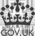 Logo van Gov.UK, meer informatie over de G-Cloud