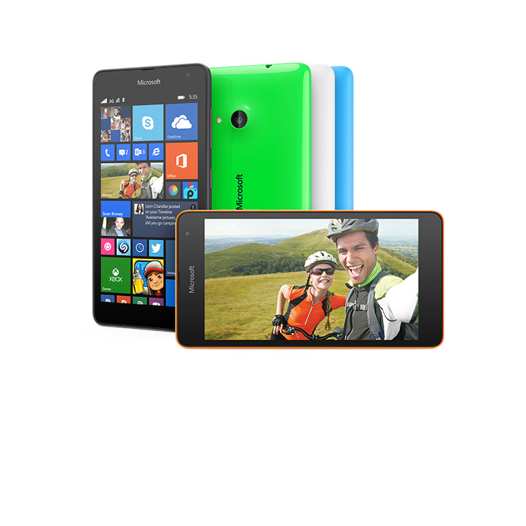 De nieuwe Lumia 535 heeft Office ingebouwd. Koop nu.